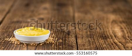 mustard as high detailed close...