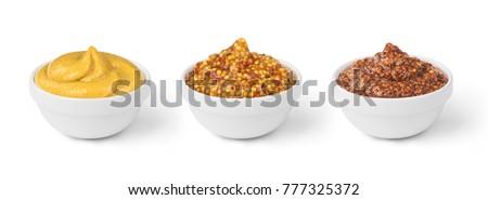 mustard in bowls set #777325372