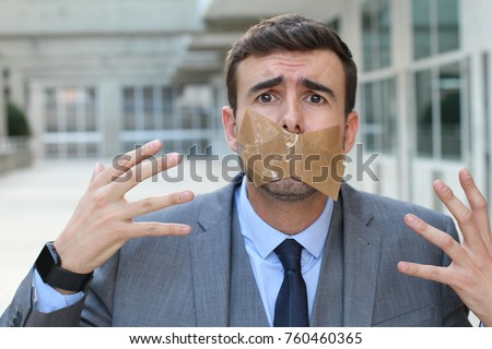 Muted worker dying to speak