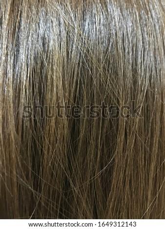My brown hair background texture