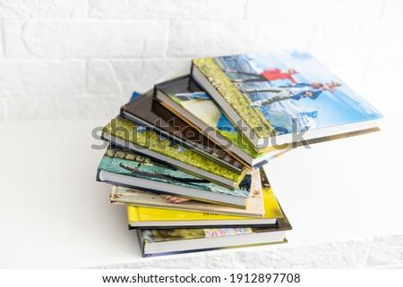 My Family Photo Books Albums, photobooks Сток-фото ©