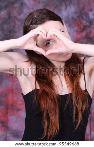 my heart for you with human hands/heart