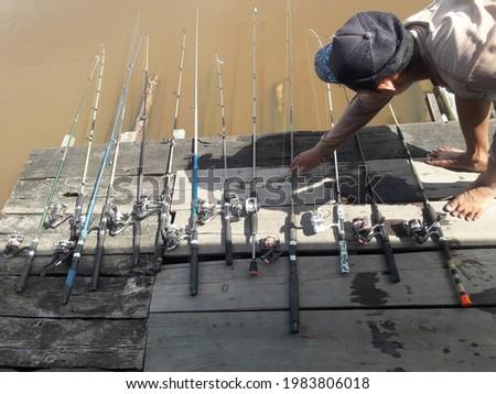 My hobby is fishing trap Stock fotó ©