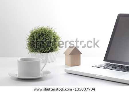 My home - stock photo