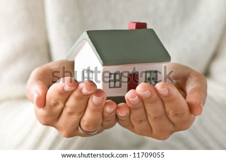 My House - stock photo