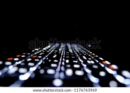 My Illuminated keyboard. #1176763969