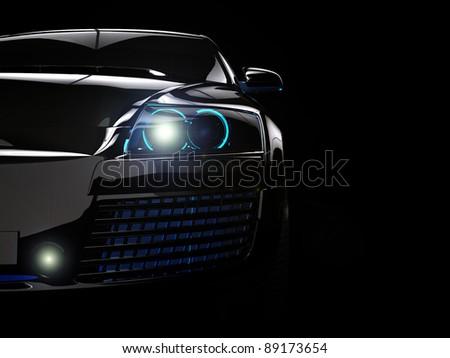 Stock Photo My own car design