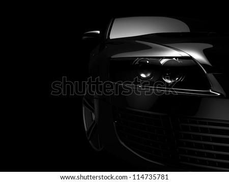 My own Car design background. 3D render. #114735781