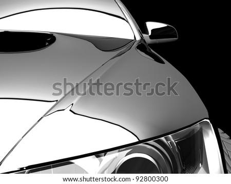 My own 3D car design #92800300