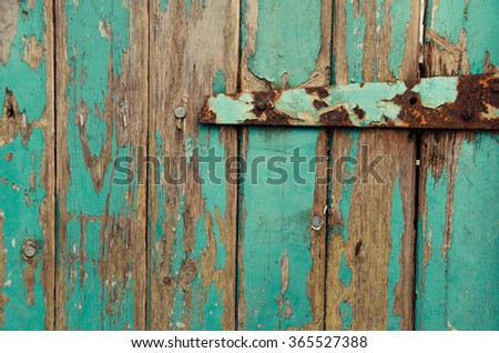 My Rustic Blue Front Door