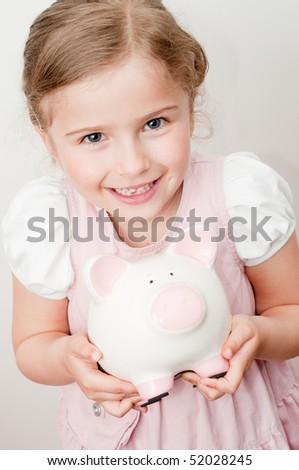 My savings in piggy bank