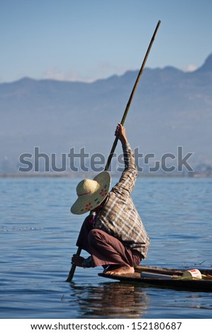 Myanmar Fish man