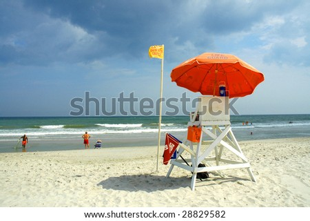 Myrtle Beach South Carolina Lifeguard Chair
