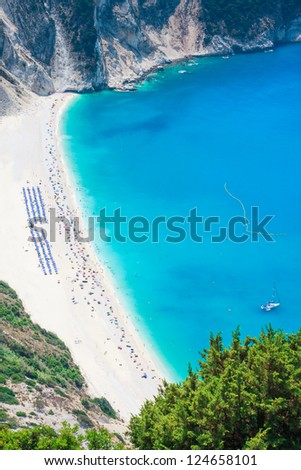 Myrtos Beach, Kefalonia Island, Greece