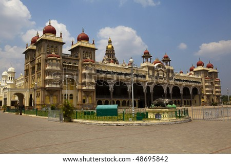 Mysore city palace, Karnataka, India
