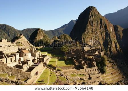 Mysterious city - Machu Picchu, Peru