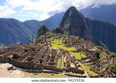 mysterious city   machu picchu  ...