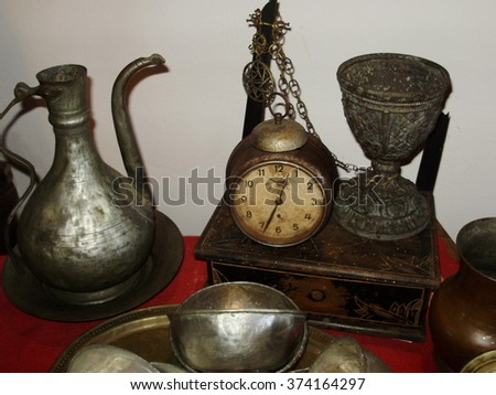 Mysterious medieval antiquities, which has seen a lot. #374164297