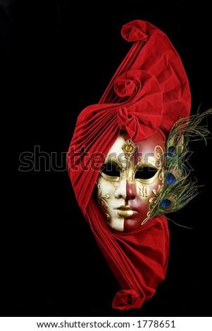 Mysterious venetian mask