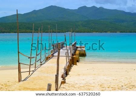 Mystery Island Wharf