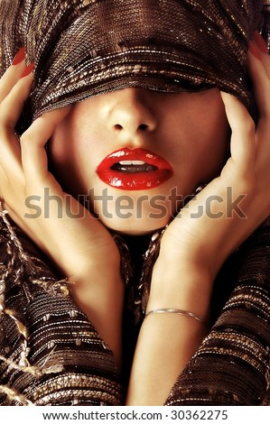 Mystery woman - stock-photo-mystery-woman-30362275