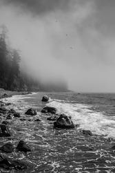 Mystic beach- Sooke Vancouver island British Columbia Canada