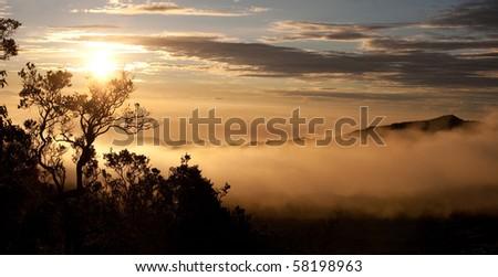 mystic sunrise