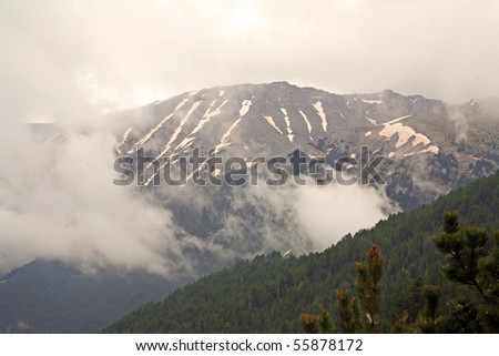Olympus Home Of The Gods http://www.shutterstock.com/pic-55878172/stock-photo-mythical-mountain-olympus-home-of-the-greek-pagan-gods.html
