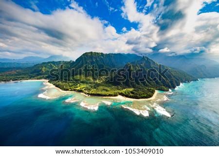 Na Pali Coast, Kauai  Stock photo ©