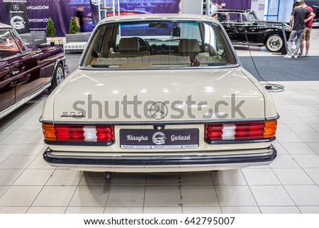 Nadarzyn Poland May 13 2017 Warsaw Oldtimer Show Mercedes Benz