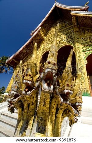 Naga Guardians - Luang Prabang, Laos