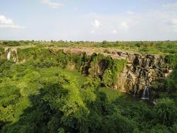 Nagarjuna Sagar Dam is a masonry dam across the Krishna river at Nagarjuna Sagar which straddles the border between Guntur district, Andhra Pradesh and Nalgonda district, Telangana.