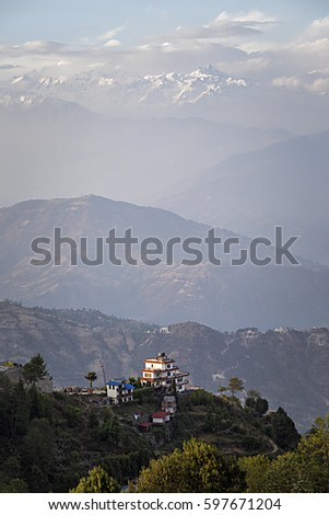 Nagarkot Himalya View Point Nepal