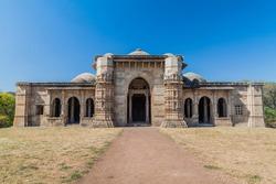 Nagina Masjid mosque in Champaner historical city, Gujarat state, India