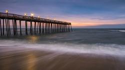 Nags Head Pier, Outer Banks, North Carolina, scenic