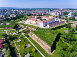 Nagyvarad (Oradea) medieval fortress, now an important touristic attraction