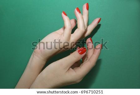 Free Photos Nail Design Manicure Nail Paint Beautiful Female