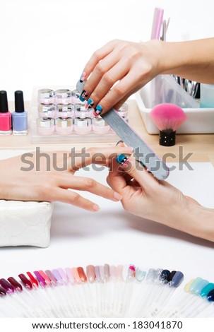 Nail gel and manicure salon