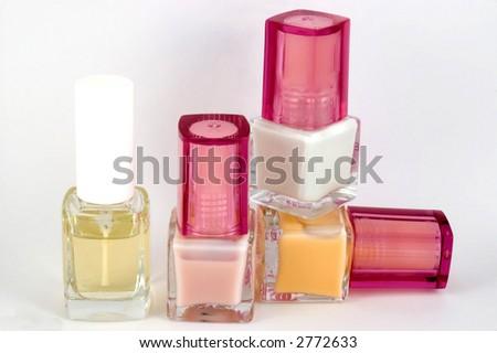 Nail polishes - stock photo