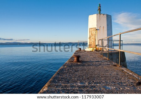 Nairn Pier and Harbour, Scotland
