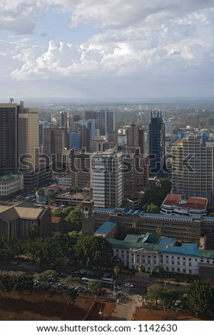 nairobi view from highest building