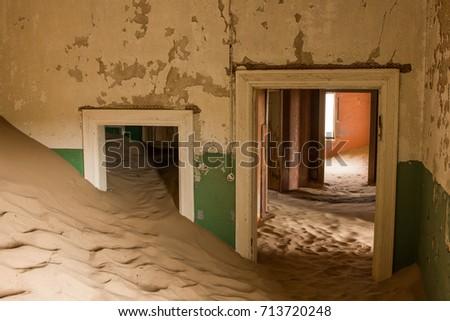 Namibia Ghost  Town  Kolmanskop #713720248