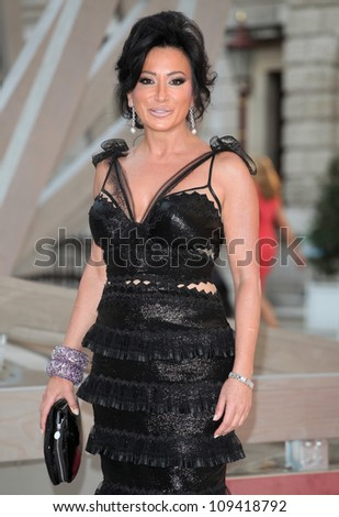 Nancy Dell'Olio arriving for the Royal Academy of Arts Summer Exhibition Party, at the Royal Academy of Arts, London. 30/05/2012 Picture by: Alexandra Glen / Featureflash