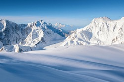 Nangaparbat peaks and glaciers well known as the killer mountain in the world