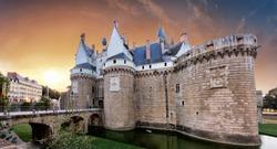 Nantes - Castle of the Dukes of Brittany (Chateau des Ducs de Bretagne), France