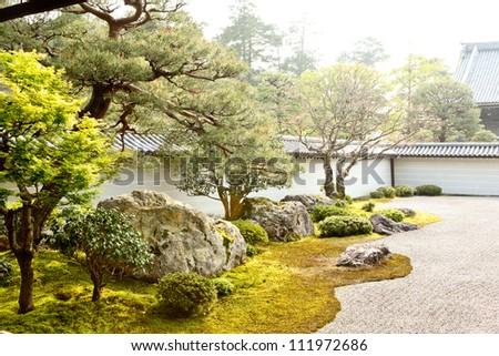 Nanzen-Ji Temple Zen Rock Garden, Kyoto