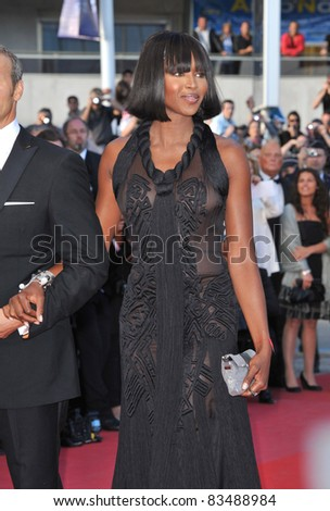 """Naomi Campbell & Vladislav Doronin at the premiere screening of """"Wall Street: Money Never Sleeps"""" at the 63rd Festival de Cannes. May 14, 2010  Cannes, France Picture: Paul Smith / Featureflash"""