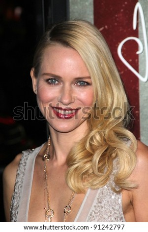 "Naomi Watts at the AFI Fest 2011 Opening Night Gala Premiere of ""J. Edgar,"" Chinese Theater, Hollywood, CA 11-03-11"