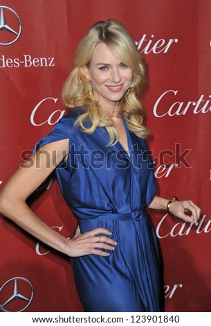 Naomi Watts at the Awards Gala for the 2013 Palm Springs Internatonal Film Festival. January 5, 2013  Palm Springs, CA Picture: Paul Smith