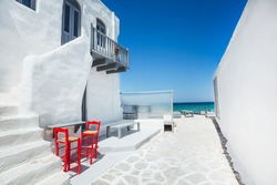 Naoussa Village, Paros, Greece